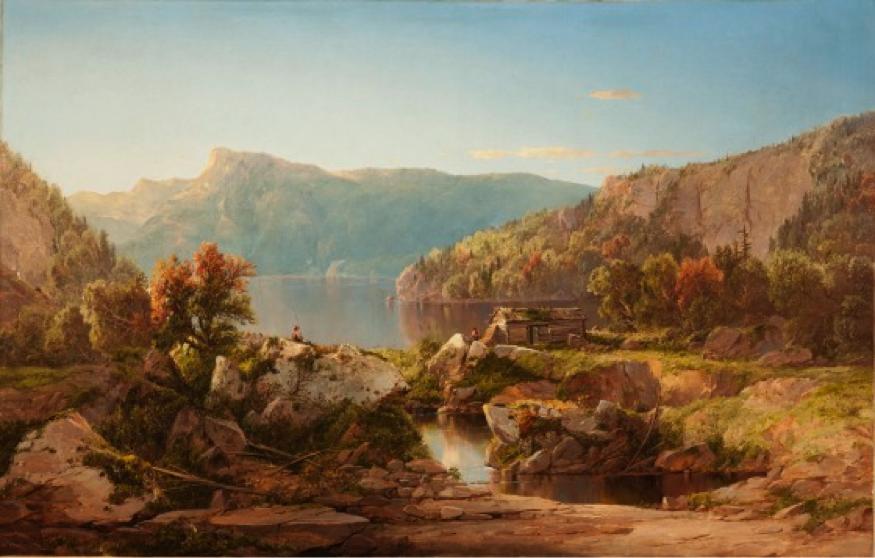 Autumn Morning on the Potomac, William Louis Sonntag, United States, circa 1860s, Gift of Mr. and Mrs. Yolande B. Markson