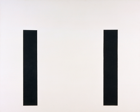 John McLaughlin, #5, 1974, Los Angeles County Museum of Art, purchased with matching funds of the National Endowment for the Arts and the Modern and Contemporary Art Council, © John McLaughlin Estate