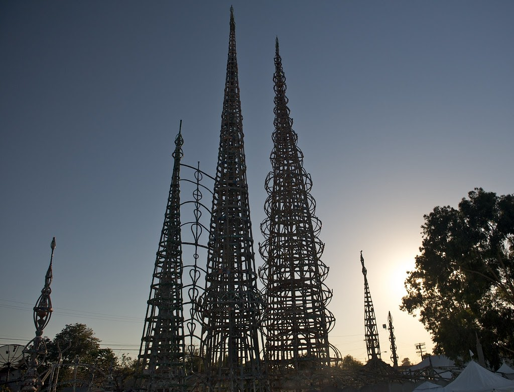 Image of Simon Rodia's Watts Towers, photo © The City Project/Flickr (CC BY-NC-SA 2.0)