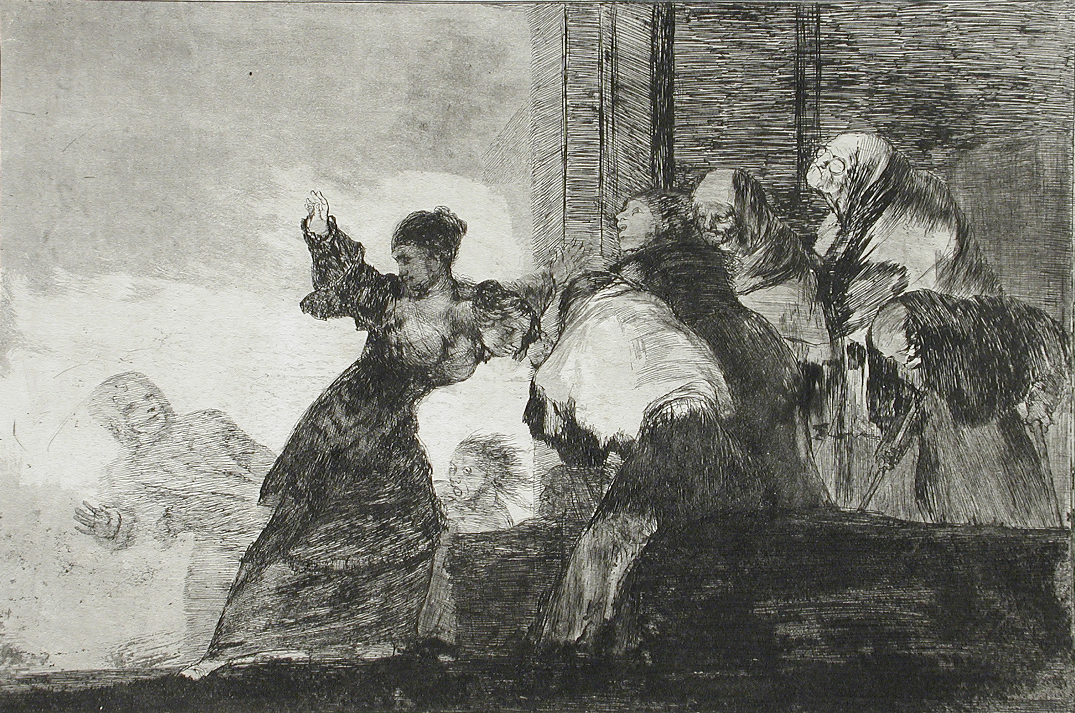 Francisco Goya y Lucientes, Poor Folly, c. 1815/1816–23, Los Angeles County Museum of Art, Los Angeles County Fund, photo © Museum Associates/LACMA