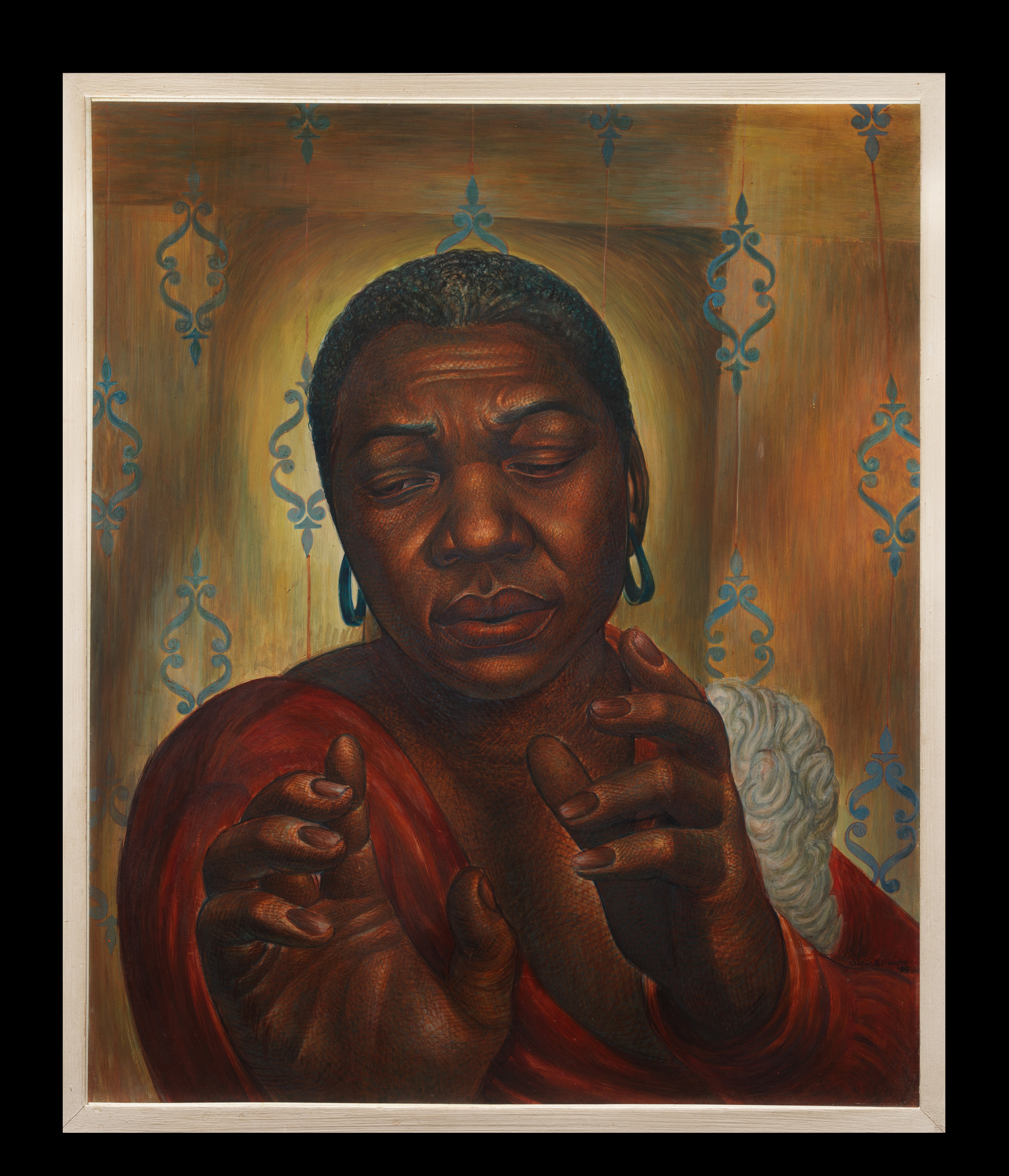 Charles White, Bessie Smith, 1950, private collection, © The Charles White Archives, photo © Museum Associates/LACMA