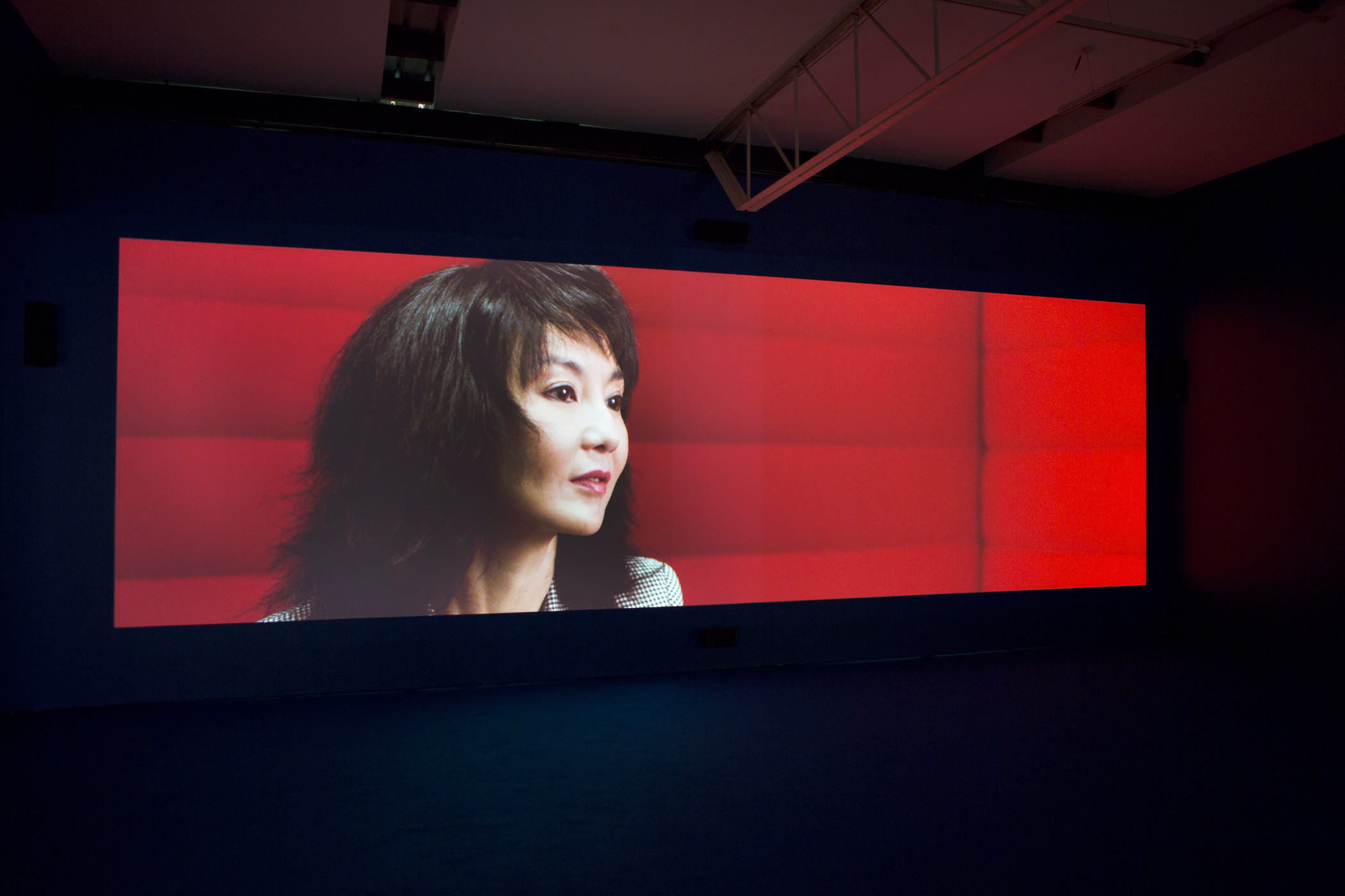 Isaac Julien, PLAYTIME, 2013, Los Angeles County Museum of Art, gift of Sheridan Brown, installation view, Roslyn Oxley9 Gallery, Sydney, 2013, © Isaac Julien, photo courtesy the artist