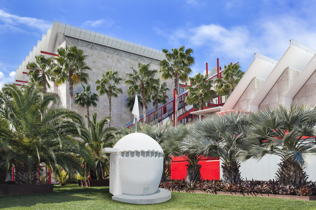 Rendering of NuMu replica at LACMA
