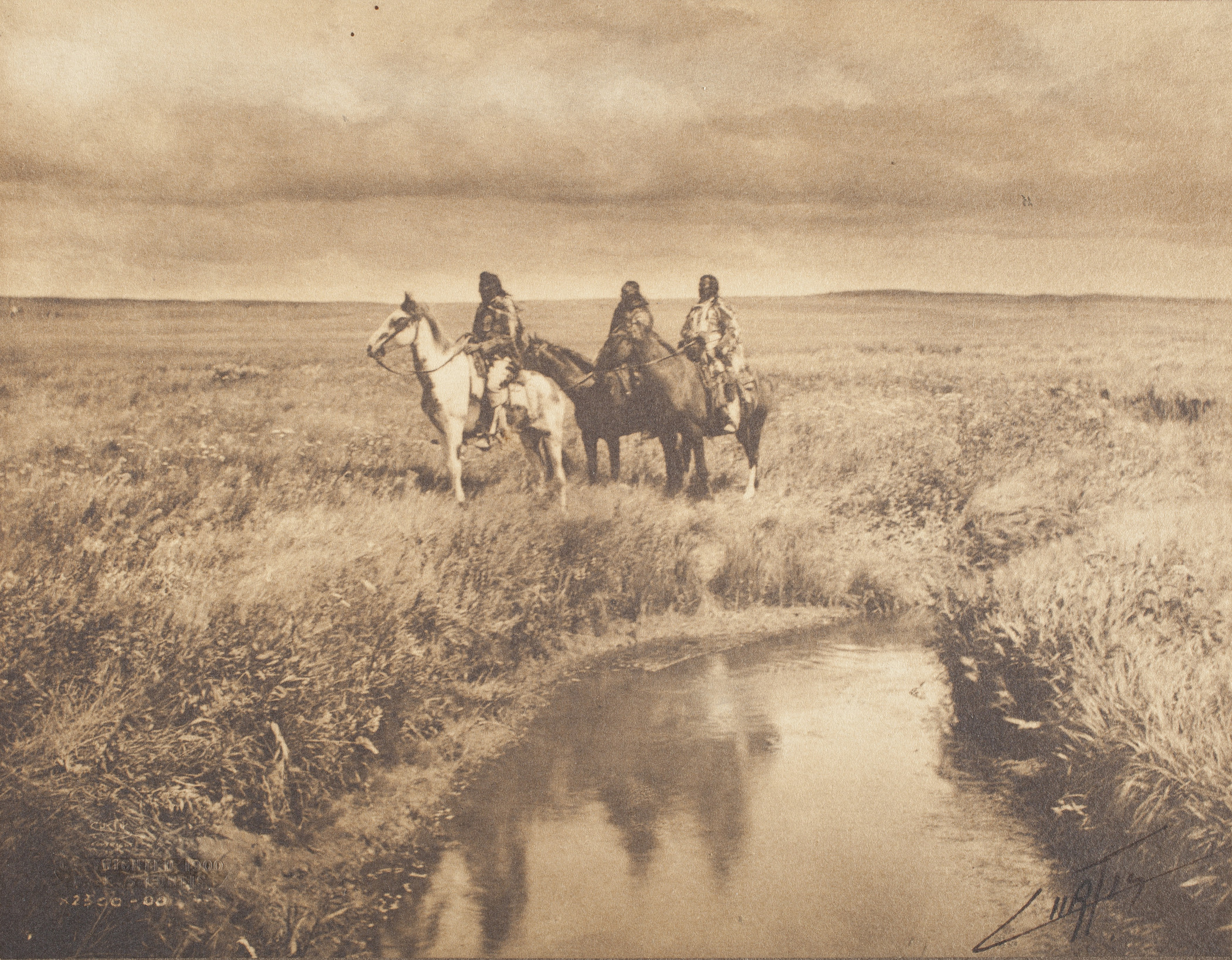 Edward Sheriff Curtis, The Three Chiefs - Piegan, 1900, Los Angeles County Museum of Art, The Marjorie and Leonard Vernon Collection, gift of The Annenberg Foundation, acquired from Carol Vernon and Robert Turbin, digital image © Museum Associates/LACMA