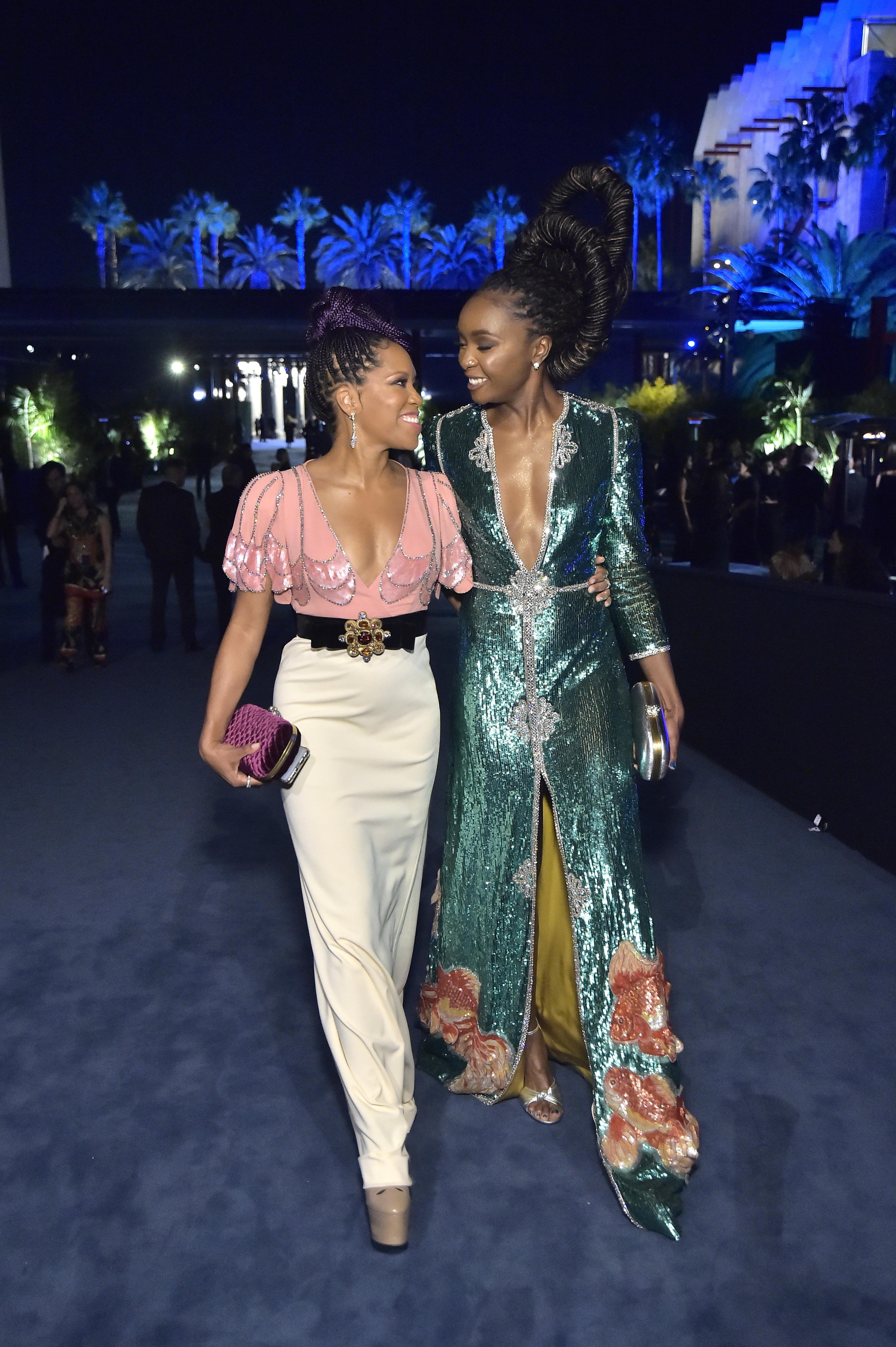 Regina King and KiKi Layne, photo by Stefanie Keenan/Getty Images for LACMA