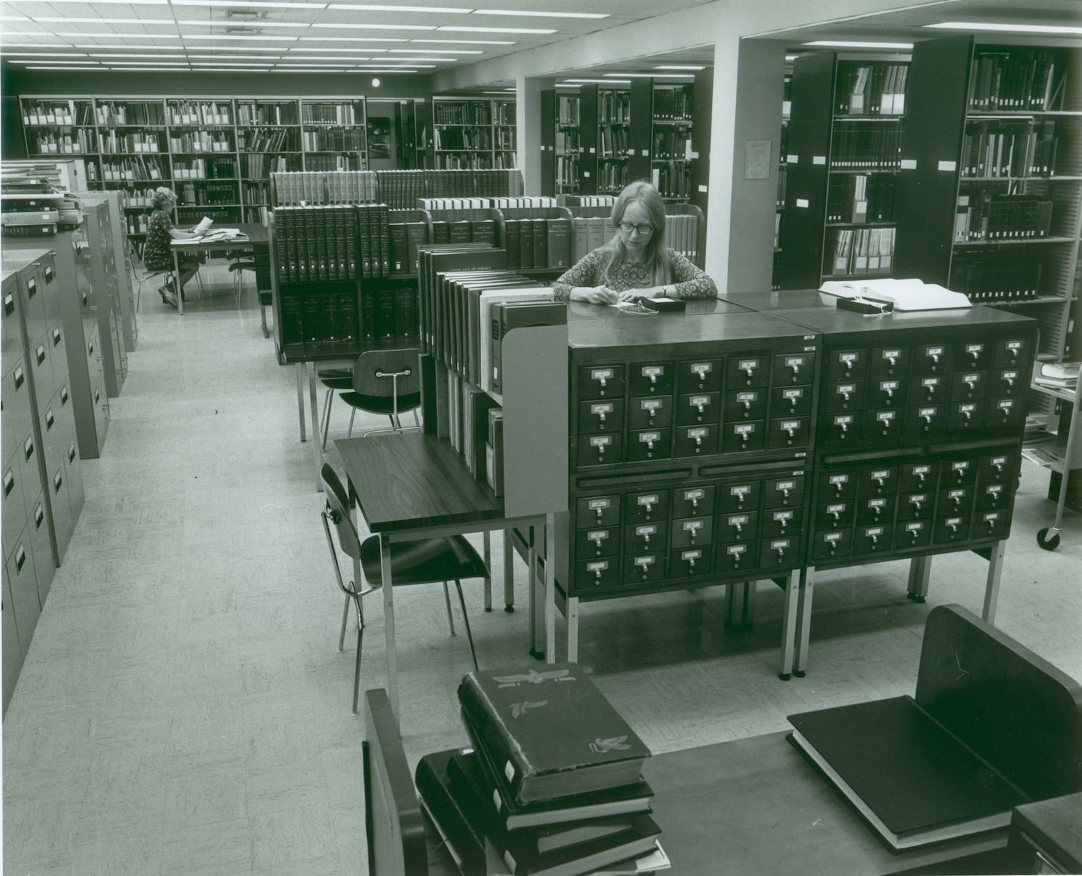 From LACMA's archives: LACMA's library, c. 1965, photo © Museum Associates/LACMA
