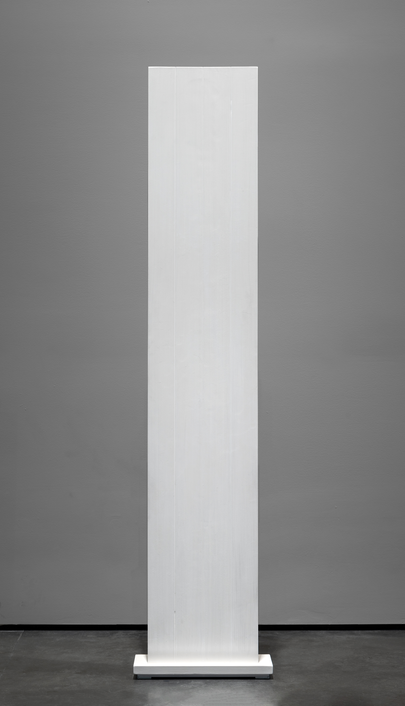 Anne Truitt, White: Four, 1962, gift of the 2019 Collectors Committee, © annetruitt.org/Bridgeman, photo © Museum Associates/LACMA