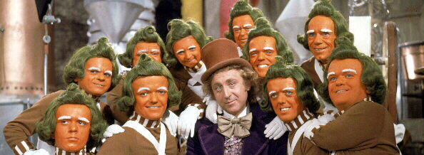 Still from Willy Wonka and the Chocolate Factory, 1971, © Wolper Pictures Ltd.