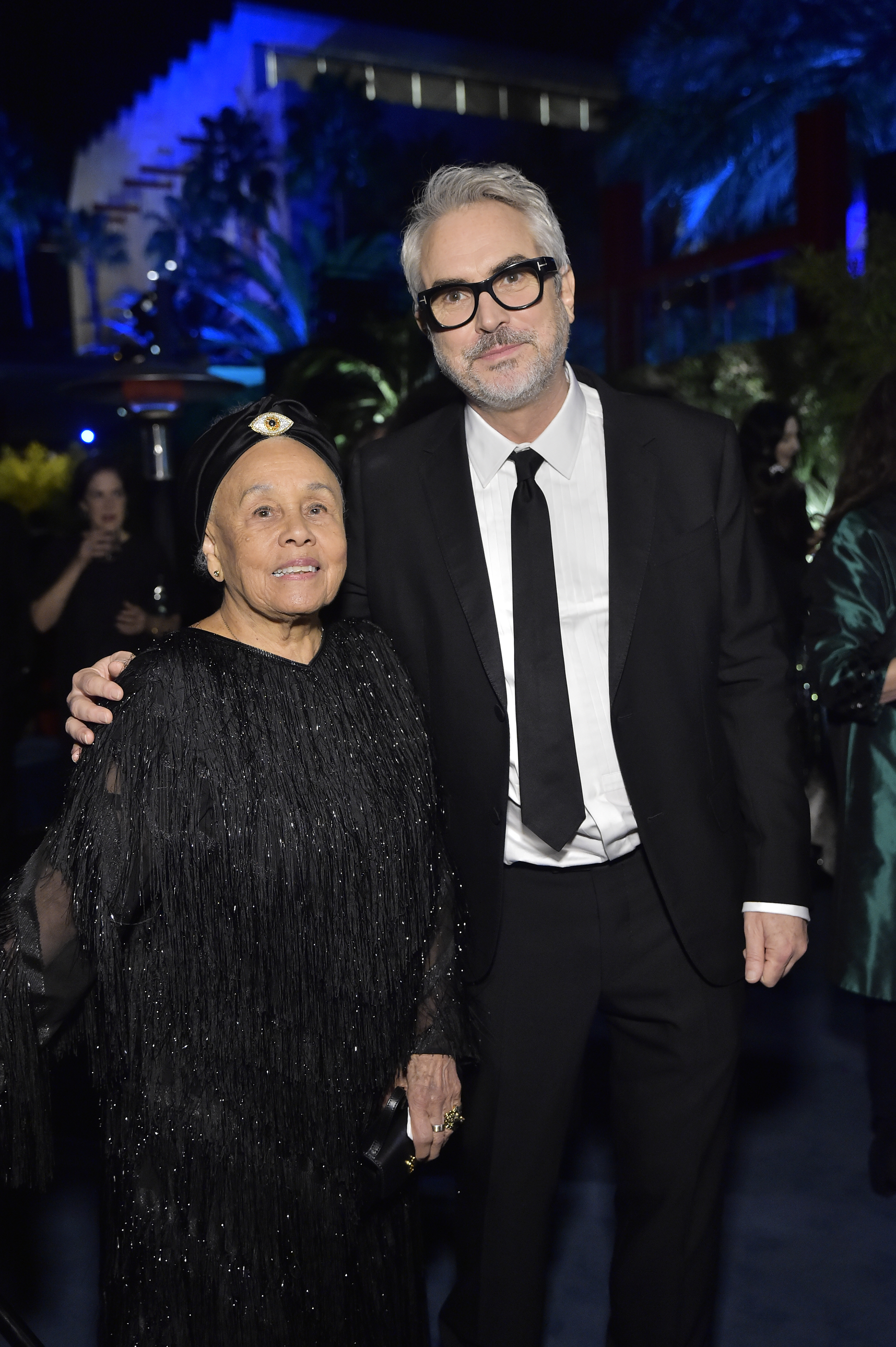 Honorees Betye Saar and Alfonso Cuarón, photo by Stefanie Keenan/Getty Images for LACMA