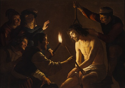 Gerrit van Honthorst, The Mocking of Christ, c. 1617–1620, Los Angeles County Museum of Art, gift of The Ahmanson Foundation, photo © 2012 Museum Associates/LACMA
