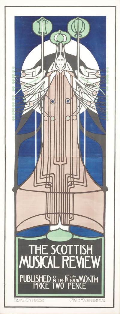 Charles Rennie Mackintosh, The Scottish Musical Review, c. 1896, photo © 2014 Museum Associates/LACMA