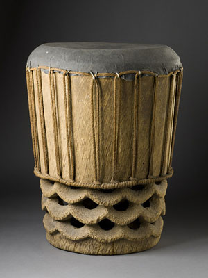 Hawaiian Islands, Drum, circa 1760
