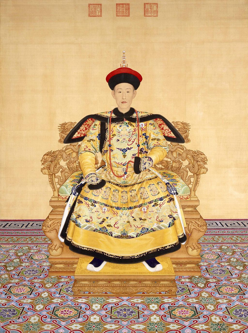 Painting of emperor
