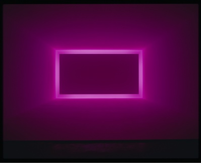 James Turrell, Raemar Pink White, 1969, Shallow Space, collection of Art & Research, Las Vegas, © James Turrell, photo by Robert Wedemeyer, courtesy Kayne Griffin Corcoran, Los Angeles