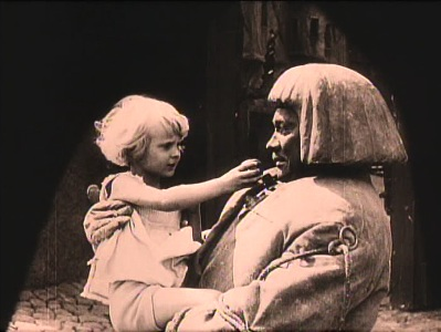 Paul Wegener (director), Germany, 1874–1948, Carl Boese (director) Germany, 1887–1958, Film still from Der Golem: Wie er in die Welt kam (The Golem: How He Came into the World), 1920, Written by Paul Wegener and Henrik Galeen, Produced by Paul Wegener, B&W, silent.