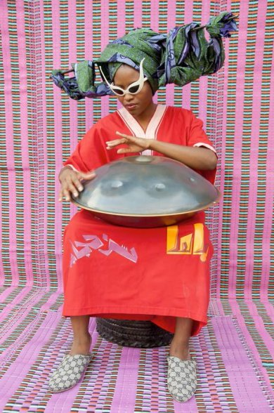 Still from Hassan Hajjaj, My Rock Stars Experimental Volume 1, 2012, 