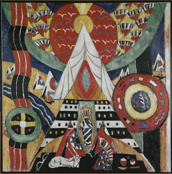 Source Hunting Marsden Hartleys German Paintings Unframed