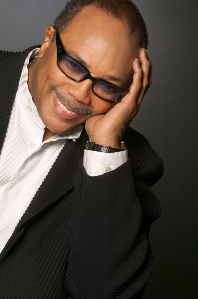 Quincy Jones portrait