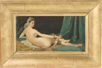 Jean-Auguste Dominique Ingres, Odalisque, c. 1825–35, gift of the 2014 Collectors Committee, photo © 2014 Museum Associates/LACMA