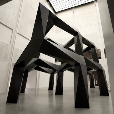 Tony Smith, Smoke, 1967, fabricated 2005, made possible by the Belldegrun Family's gift to LACMA in honor of Rebecka Belldegrun's birthday