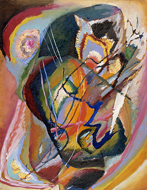 I kicked off my Month of Art with Kandinsky's Untitled Improvisation III as a nod to my father, who considers this amongst his favorite permanent collection works.