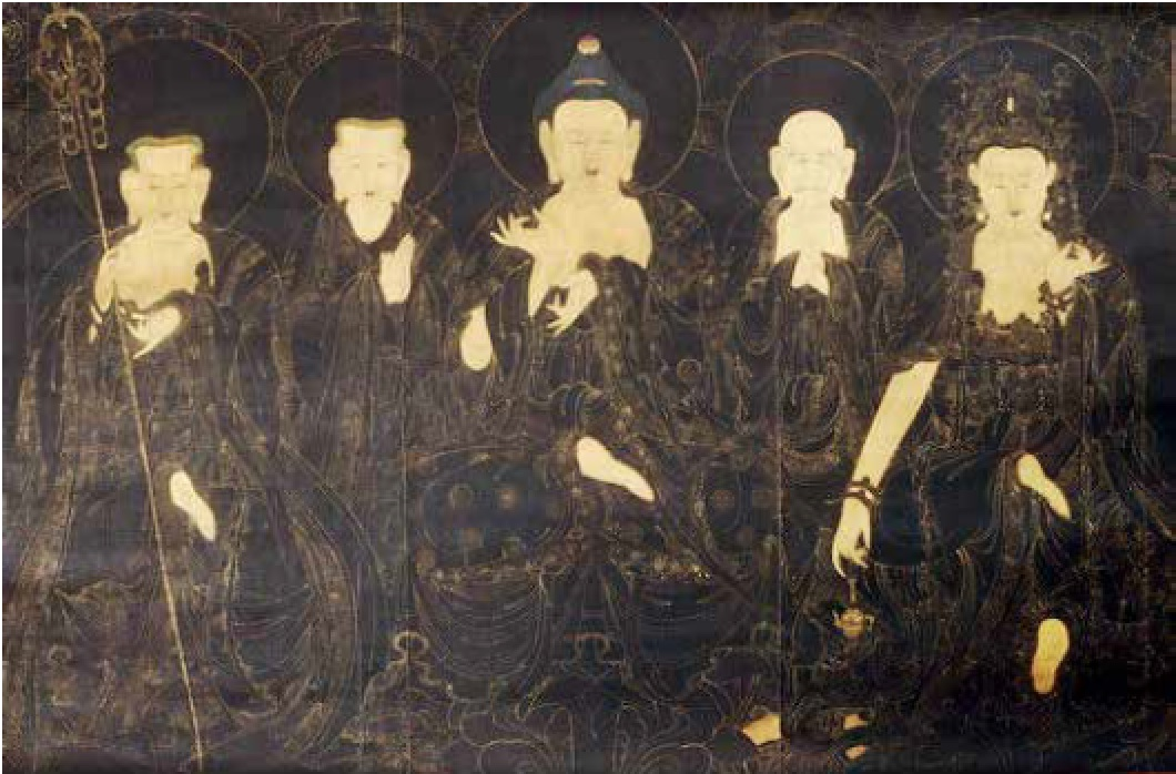 Preaching Assembly of Amitabha, 19th century, Gyeongju National Museum, photo © 2014 Gyeongju National Museum