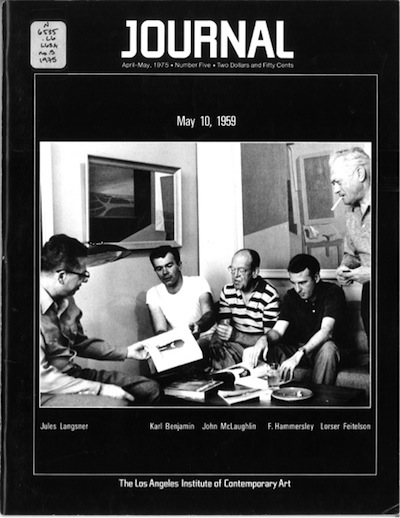 Cover of the April–May 1975 issue of LAICA Journal
