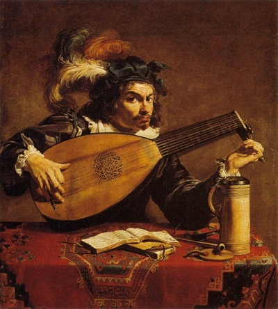 Theodoor Rombouts, The Lute Player, c. 1625–1630, Philadelphia Museum of Art, John G. Johnson Collection, 1917, photo © 2012 Philadelphia Museum of Art, all rights reserved