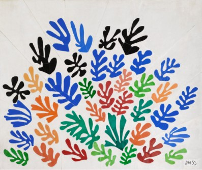 Henri Matisse, La Gerbe (The Sheaf), 1953, LACMA, gift of Frances L. Brody in honor of the museum's twenty-fifth anniversary, © 2012 Succession H. Matisse/Artists Rights Society (ARS), NY