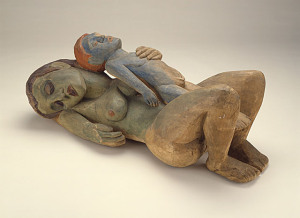 Hermann A. Scherer, Sleeping Woman with Boy, 1926, gift of Anna Bing Arnold