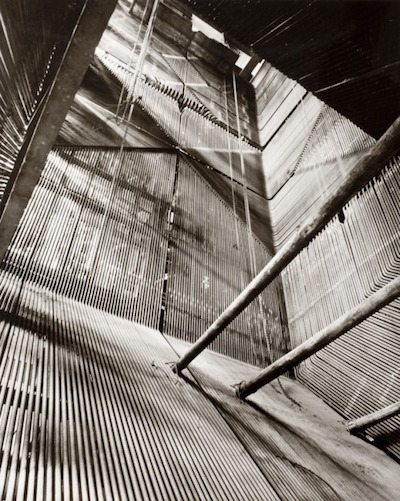 Ruth Hallensleben, Interior Structure—Factory, 1950s, printed 1950s, The Marjorie and Leonard Vernon Collection, gift of The Annenberg Foundation, acquired from Carol Vernon and Robert Turbin, © Ruth Hallensleben / Ruhr Museum Photo Archive