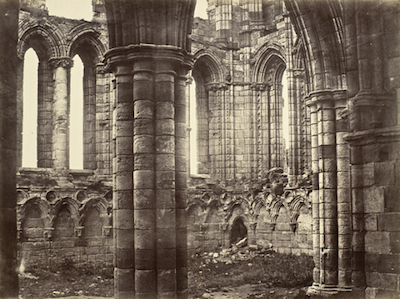 Benjamin Brecknell Turner, Whitby Abbey, Yorkshire, North Transept, c. 1854, The Marjorie and Leonard Vernon Collection, gift of The Annenberg Foundation and Carol Vernon and Robert Turbin