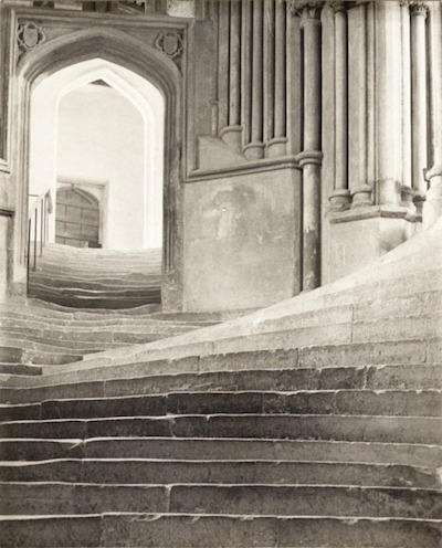 Frederick H. Evans, A Sea of Steps—Wells Cathedral, 1903, the Marjorie and Leonard Vernon Collection, gift of the Annenberg Foundation, acquired from Carol Vernon and Robert Turbin, © Frederick H. Evans, courtesy Janet B. Stenner