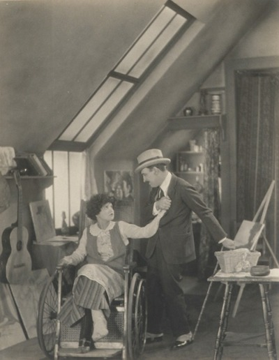 Karl Struss, Clara Bow and Raymond Griffith, 1924, gift of the Sid and Diana Avery Trust