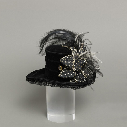 Image 3: Mildred Blount, Woman's Hat (Miniature), c. 1939, Los Angeles County Museum of Art, gift of Marjorie St. Cyr, photo © Museum Associates/LACMA