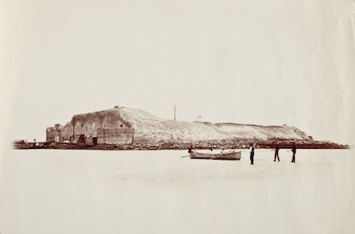 George N. Barnard, Fort Sumter, Exterior, 3 1/2 Miles From Charleston, The Marjorie and Leonard Vernon Collection, gift of the Annenberg Foundation, acquired from Carol Vernon and Robert Turbin