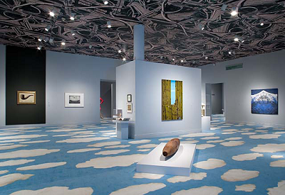 Installation photo of the exhibition Magritte and Contemporary Art: The Treachery of Images (November 2006–March 2007), Los Angeles County Museum of Art, Photo © Museum Associates LACMA