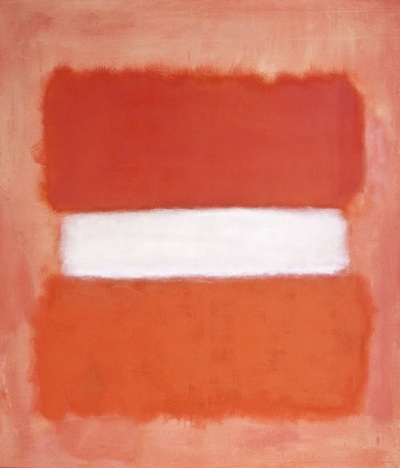 "Mark Rothko, ""White Center,"" 1957, David E. Bright Bequest, © 1998 Kate Rothko Prizel & Christopher Rothko / Artists Rights Society (ARS), New York"