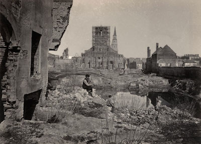 George N. Barnard, Ruins in Charleston, S.C., 1866, The Marjorie and Leonard Vernon Collection, gift of the Annenberg Foundation, acquired from Carol Vernon and Robert Turbin