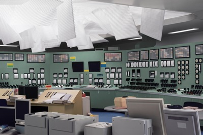Thomas Demand, Control Room, 2011, purchased with funds provided by Willow Bay and Bob Iger and Steve Tisch through the 2013 Collectors Committee