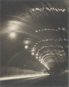 Shinsaku Izumi, Tunnel of Night (detail), circa 1931, Los Angeles County Museum of Art, Los Angeles County Fund