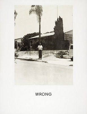 John Baldessari, Wrong, 1966-1968, Painting, photoemulsion with acrylic on canvas, 59 x 45 in. Contemporary Art Council (M.71.40)