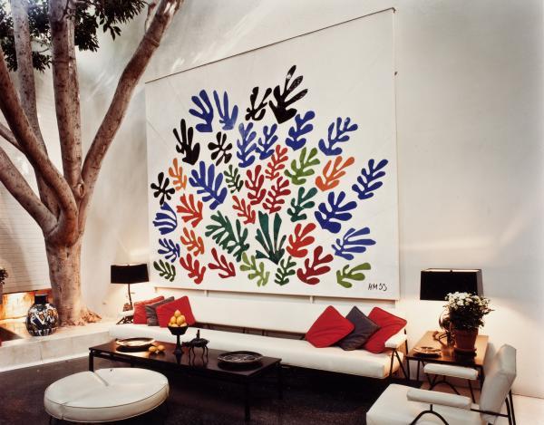 Henri Matisse La Gerbe Unframed