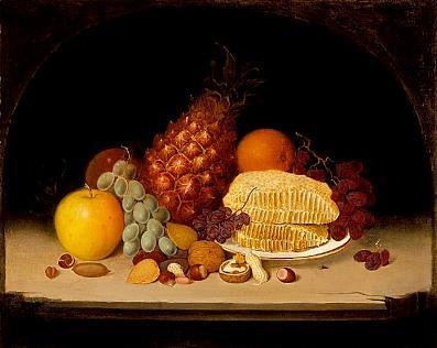 Robert S. Duncanson, Still Life, 1849