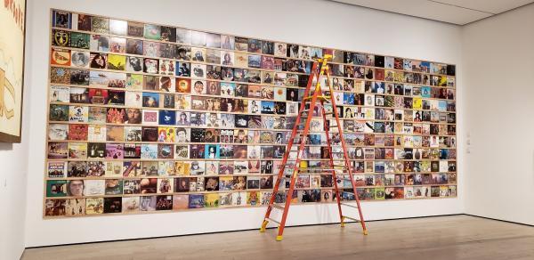 Installation photograph, Yoshitomo Nara, at the Los Angeles County Museum of Art, photo by Senior Art Preparator Daniel Wheeler