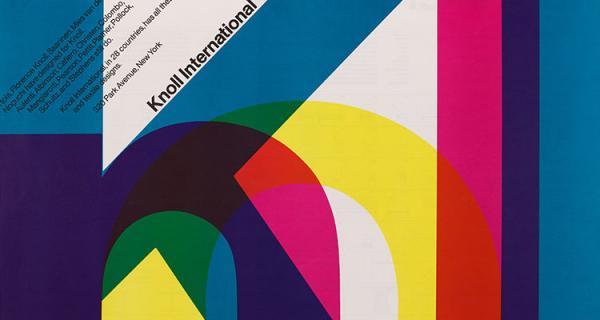 Massimo Vignelli, Knoll International, 1967