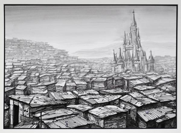 Jeff Gillette, Disneyland Castle Slum, 2019