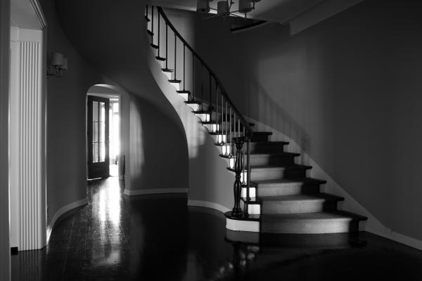Janna Ireland, Hancock Park, House 1, Number 1, 2017, from the series Regarding Paul R. Williams