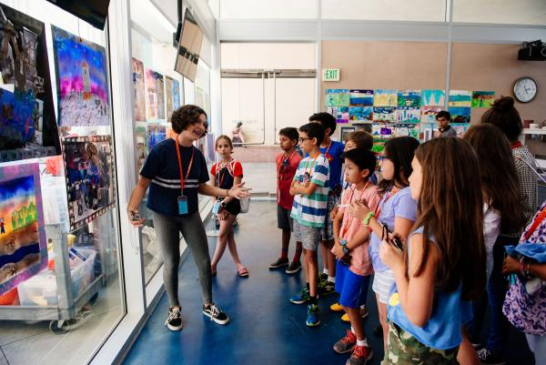 Summer Art Camp—Experimental Art for Teens, July 20, 2018, photo © Museum Associates/LACMA, by Mercedes Anne Ghimire