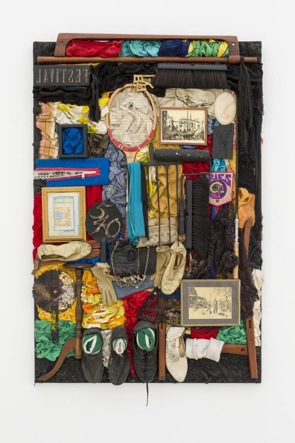 Noah Purifoy, Rags and Old Iron I (After Nina Simone), 1989